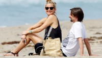 Kate Hudson & Matthew Bellamy in Malibu, California on March 29, 2014