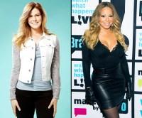 Rachel Frederickson and Mariah Carey