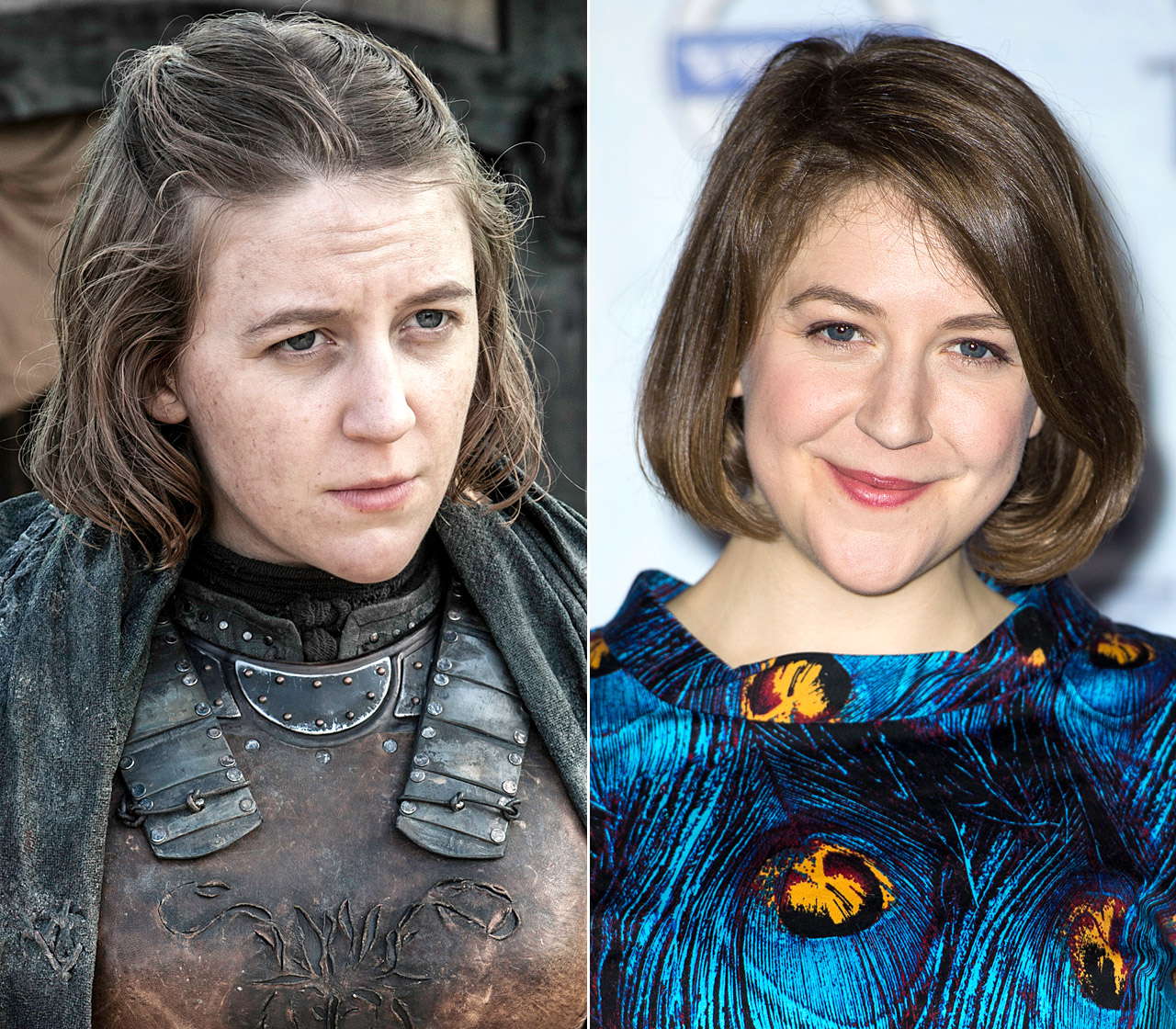 She's a long way from the Iron Islands! Whelan, who plays Princess Asha Yara Greyjoy on the show, typically looks and acts rough and tough as the commander of her own longship.