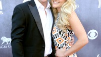 Newlyweds James Watson and Jamie Lynn Spears at the 49th ACM Awards