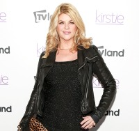 "Kirstie Alley at the ""Kirstie"" premiere party on Dec. 3, 2013 in NYC"