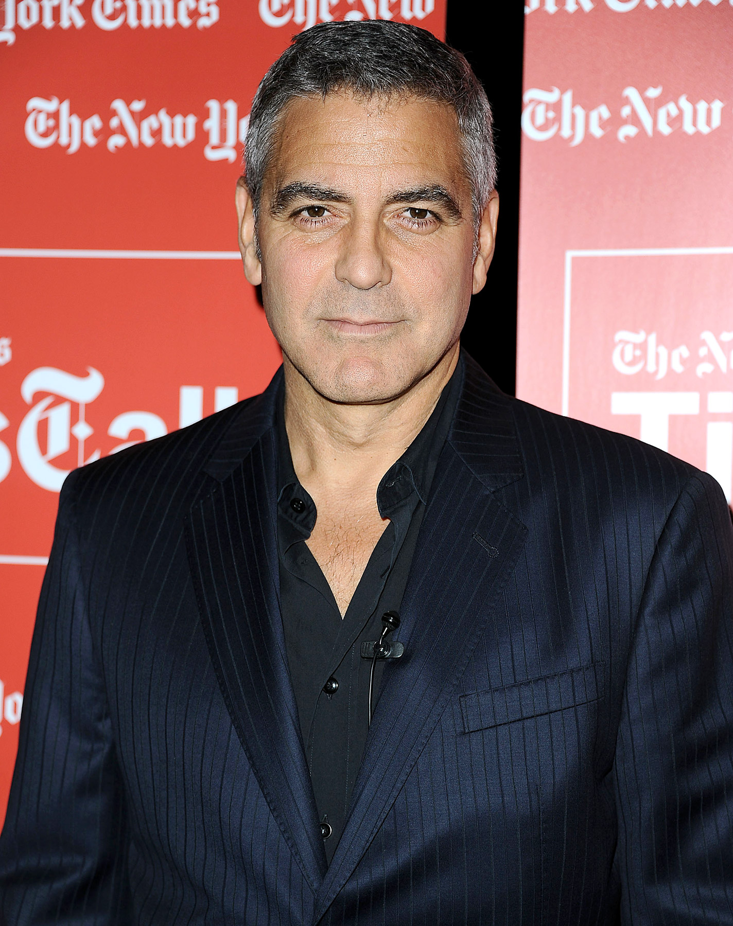 Clooney's too cool for coke!
