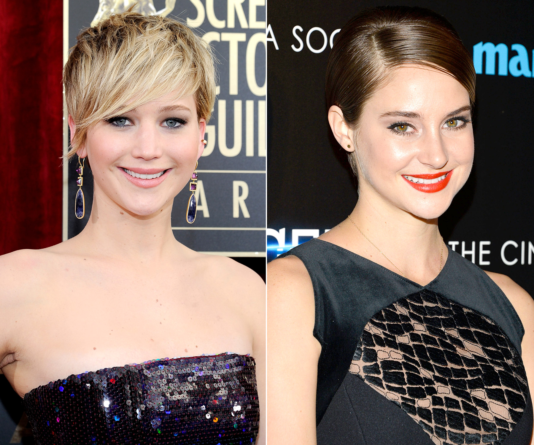 """What's the number one thing The Hunger Games ' Katniss Everdeen and Divergent 's Tris Prior will never do? Drugs! """"I sent her an email,"""" Shailene Woodley said of Jennifer Lawrence , """"And she basically said 'If you love the story and you love the character, don't pay attention to the budget and jump in. Don't do anything stupid. Don't do drugs and don't make a sex tape and you'll be fine.'"""""""