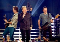 Rascal Flatts perform onstage during the 49th Annual ACM Awards