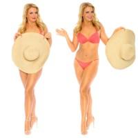 Melissa Joan Hart poses in a bikini for Nutrisystem