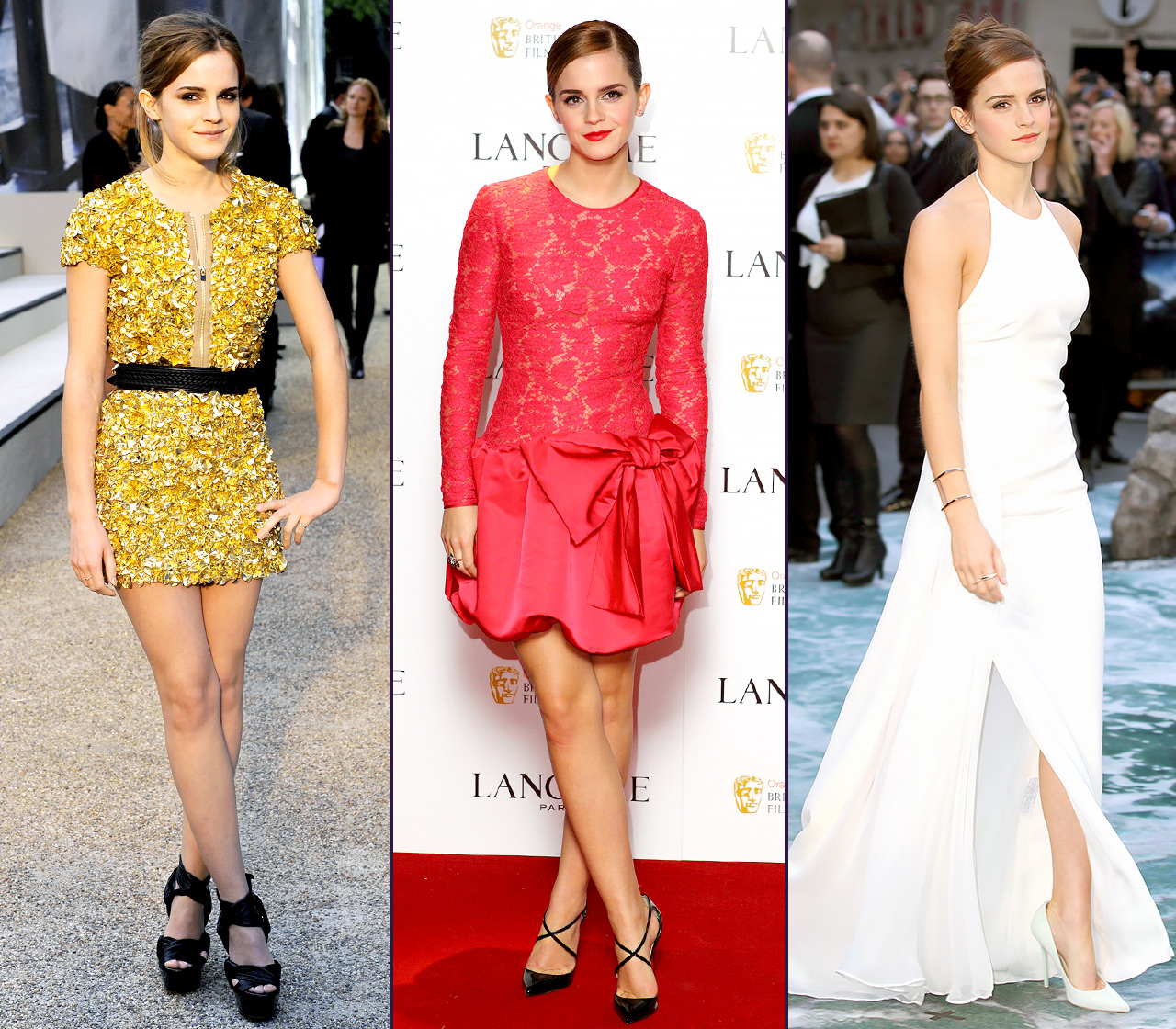 Happy Birthday, Emma Watson ! Hermione is all grown up and turning 29 on Monday, April 15, and we're celebrating by taking a look back at her seriously stylish fashion evolution.