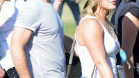 Hilary Duff mike comrie coachella 2014