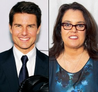 Tom Cruise and Rosie O'Donnell