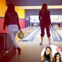 Kourtney Kardashian and Khloe Kardashian share Instagram pics
