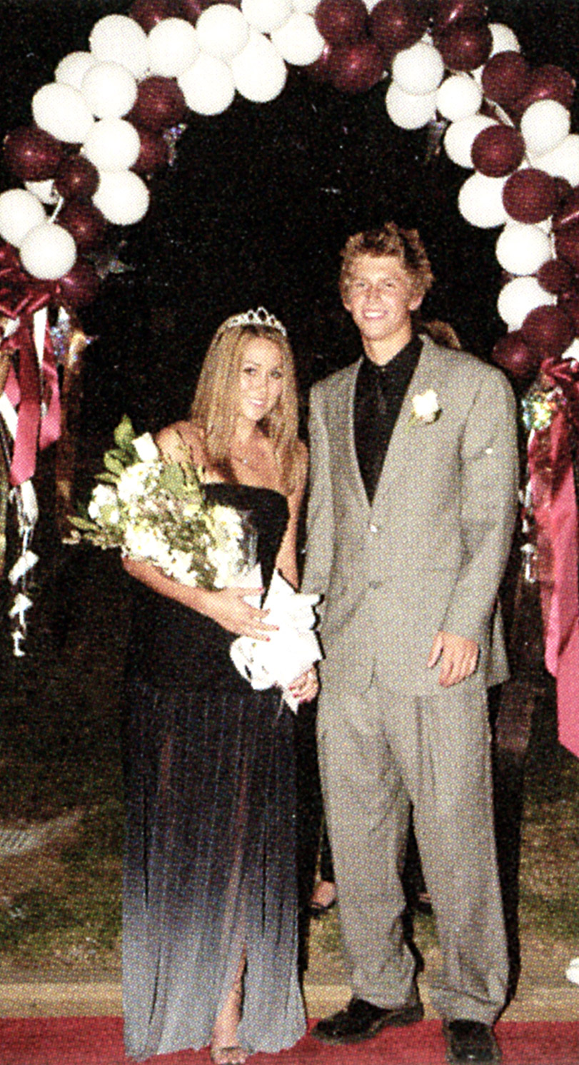 "Coincidence? In 2003, Conrad -- then still known as ""LC"" -- made the Laguna High homecoming court while MTV chronicled her senior year on Laguna Beach ."