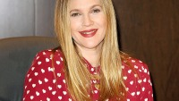 "Drew Barrymore signs copies of her new book ""Find It In Everything"""