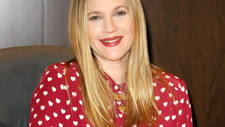 """Drew Barrymore signs copies of her new book """"Find It In Everything"""""""