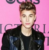 Justin Bieber attends an event on November 7, 2012