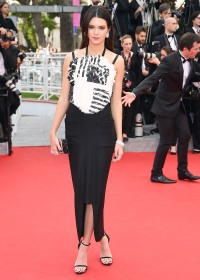 Kendall Jenner in a Chanel gown at Cannes 2014