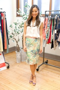Jamie Chung shares her style secrets with Us Weekly.