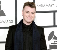 Sam Smith at the 56th GRAMMY Awards at Staples Center