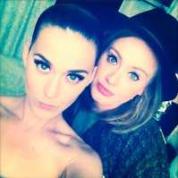 Katy Perry and Adele