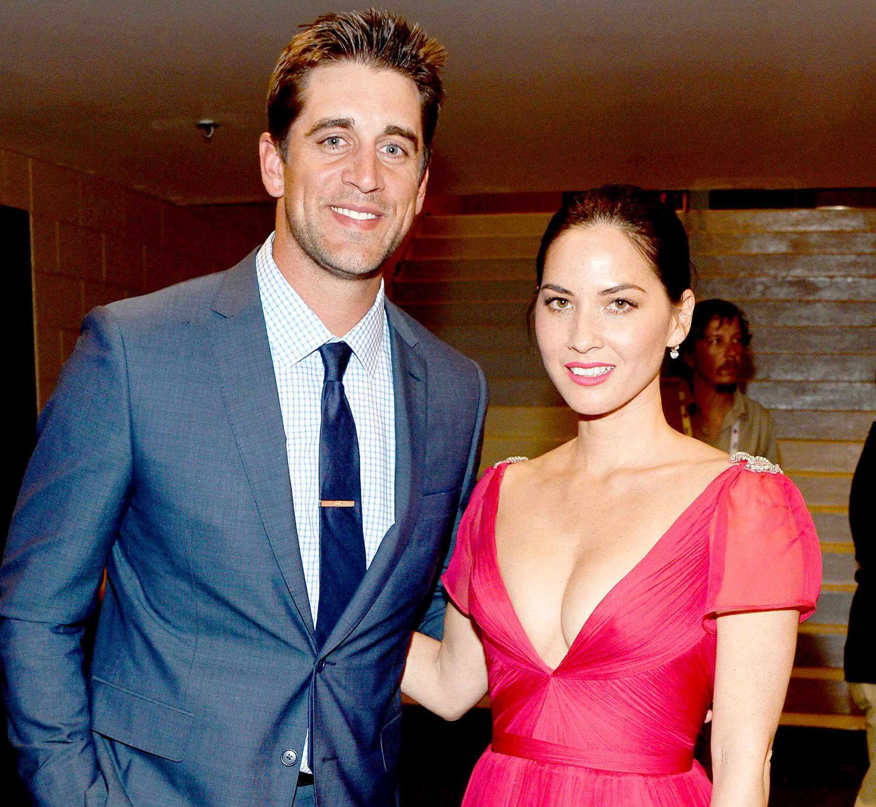 Actress dating athlete