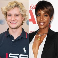 Charlie White and Kelly Rowland