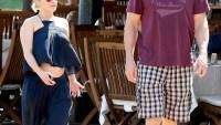 Hayden Panettiere and Wladimir Klitschko in Porto Cervo on June 21
