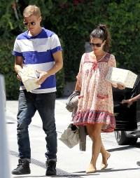 Hayden Christensen and Rachel Bilson go to a birthday party on June 21