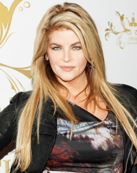 Kirstie Alley attends an event on October 30, 2011
