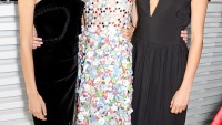 Alexa Chung, Keira Knightley and Cara Delevingne at The Serpentine