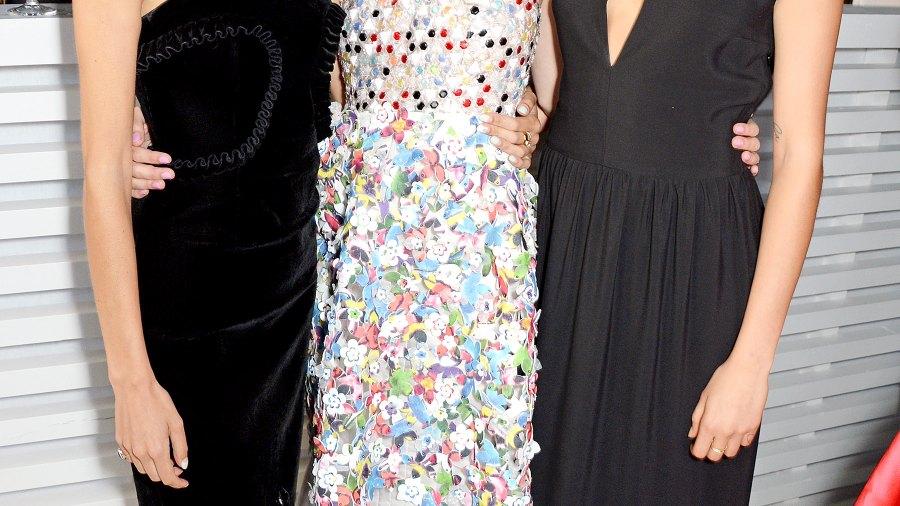 Alexa Chung, Keira Knightley and Cara Delevingne at The Serpentine
