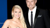 Jessica Simpson and Eric Johnson on May 3, 2014 in Washington, DC