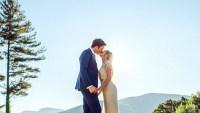 John Mulaney and Annemarie Tendler on their wedding day