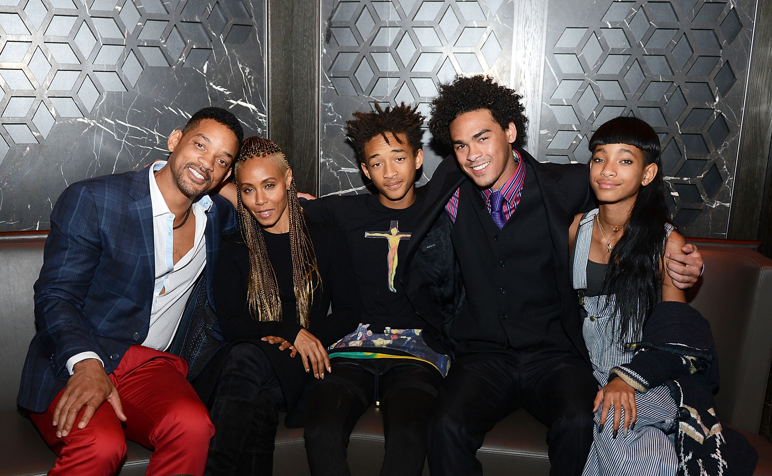 Image result for will smith and jada pinkett family
