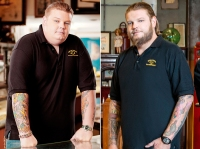 Pawn Stars' Corey Harrison before and after 200 lb weight loss