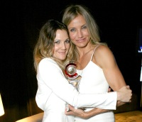 Drew Barrymore and Cameron Diaz during CinemaCon