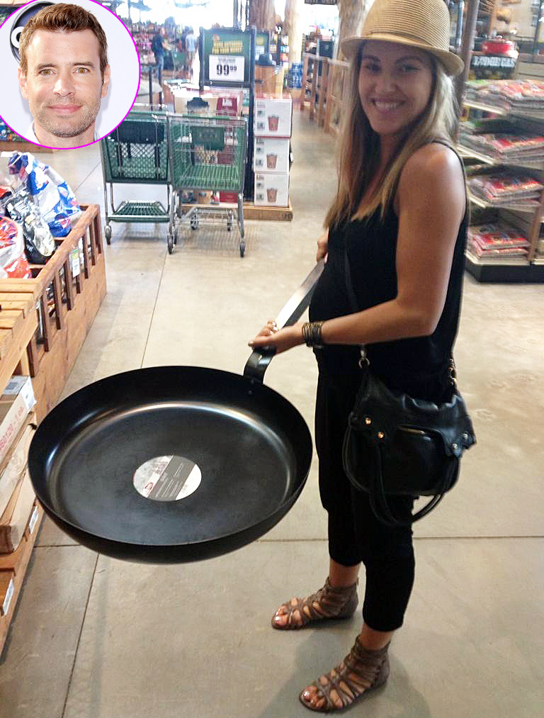 A frying pan big enough for five!