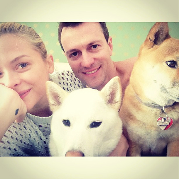 Make room! The Hart of Dixie actress wrote via Instagram in May 2013 that she and director husband Kyle Newman were expanding their family in an adorable picture with their two dogs.