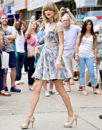 Taylor Swift on July 30, 2014 in New York City