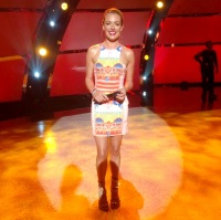 Cat Deeley films 'So You Think You Can Dance'