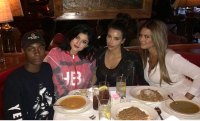 Kim Kardashian's little sister Kylie tries to make her eat carbs!