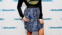 Nina Dobrev at SiriusXM Studios on August 4, 2014
