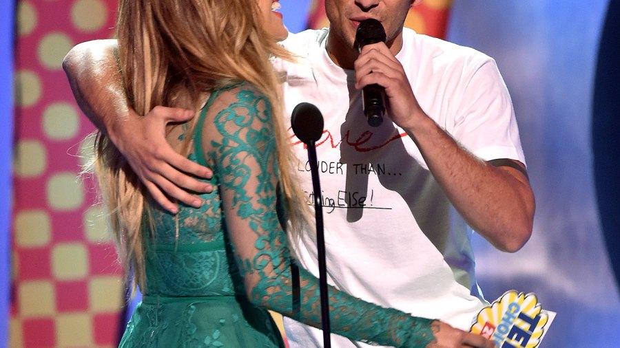 Jennifer Lopez and Tyler Posey