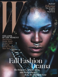 Rihanna on the cover of W Magazine