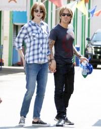 Nicole Kidman and Keith Urban with matching haircuts