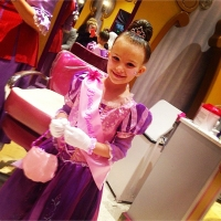 Jamie Lynn Spears' daughter Maddie dressed as a princess