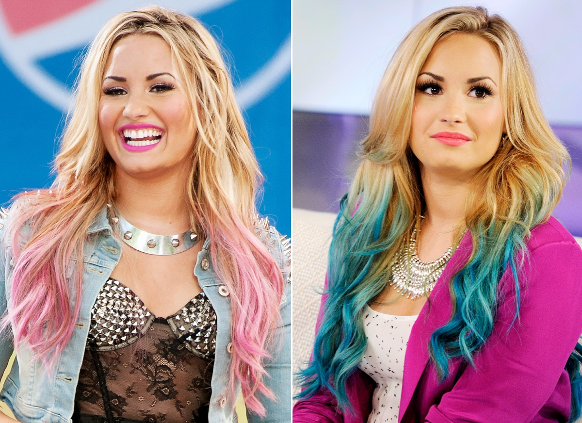 Demi Lovato's Ever-Changing Hair Color - Us Weekly