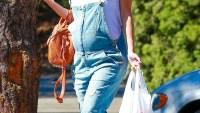 Pregnant Rachel Bilson went camping with boyfriend Hayden Christensen