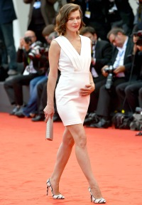 Milla Jovovich at the 'Cymbeline' Premiere during the Venice Film Fest