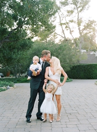 Jessica Simpson and Eric Johnson with Ace and Maxwell Drew