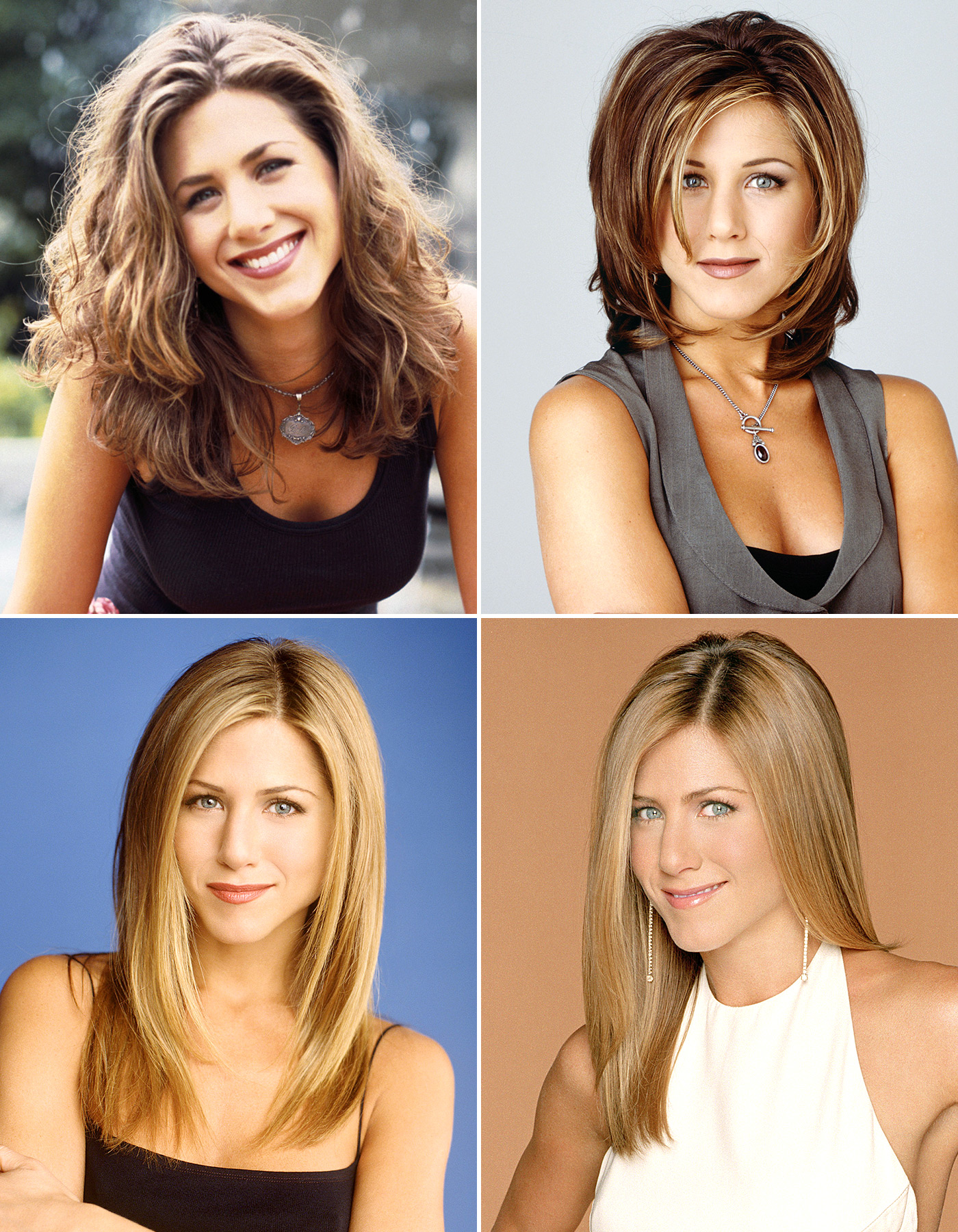 Friends Turns 20: See Rachel Green's Hairstyles Throughout ...