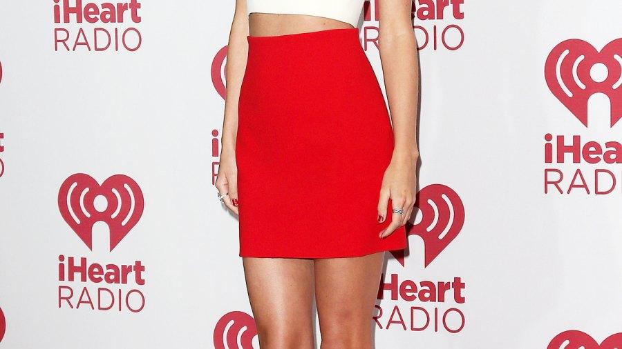 Taylor Swift at the iHeart Radio Music Festival on September 19, 2014