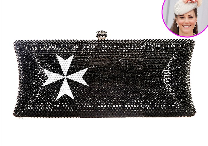 The First Lady of Malta gave this clutch to Prince William for Kate